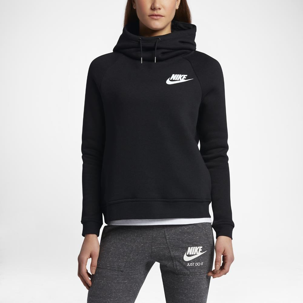 Nike Sportswear Rally Funnel Neck Women's Sweatshirt Size