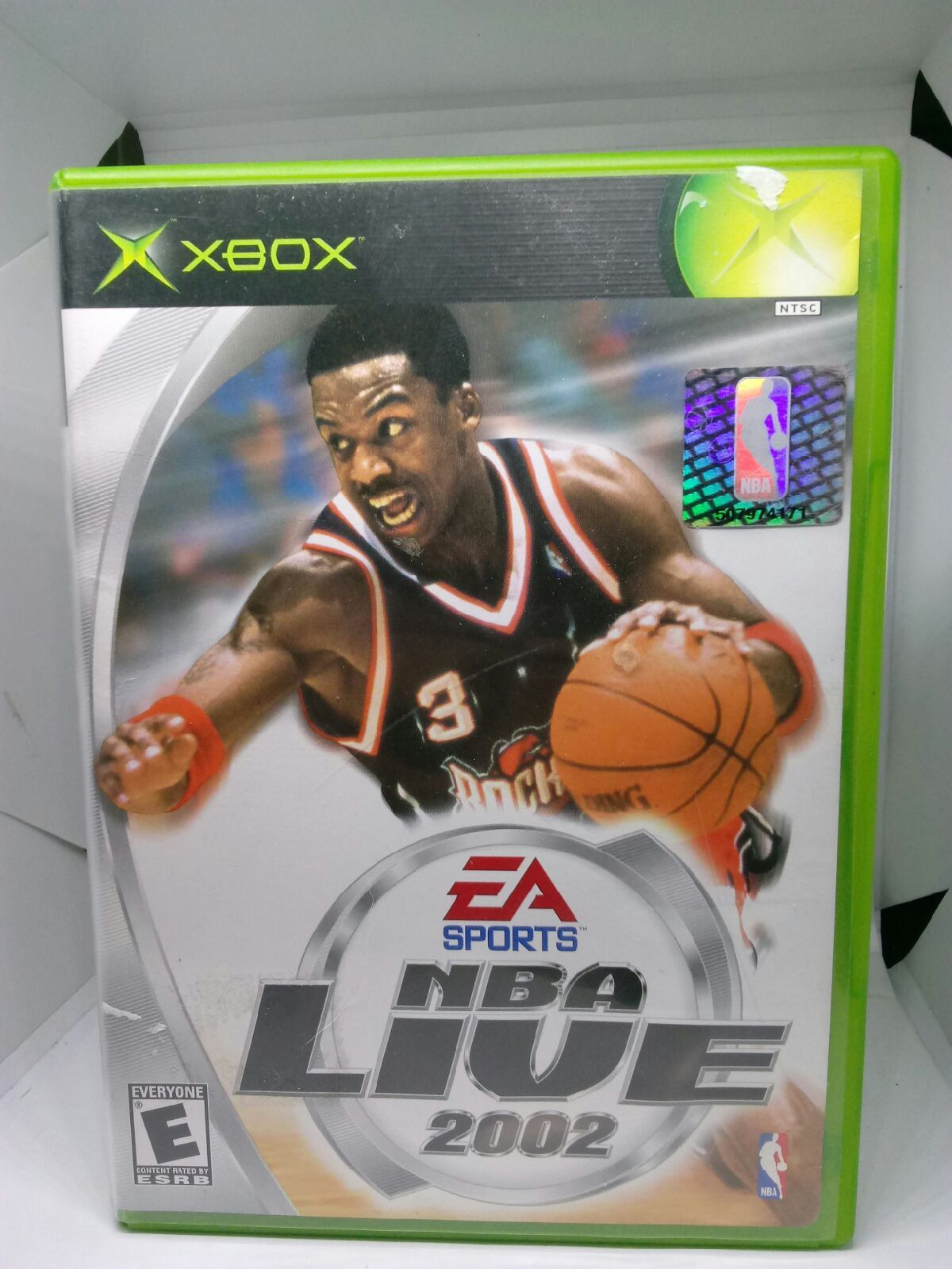 EA SPORTS NBA LIVE 2002 Original XBOX GAME Good condition
