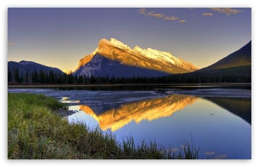 Download Beautiful Mountain View Hd Wallpaper With Images
