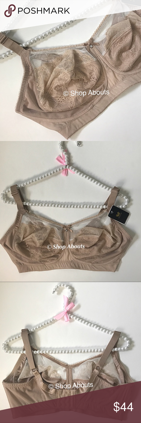 67af3332e1 Wacoal Retro Chic Nude Lace Soft Wirefree Bra Wacoal Retro Chic Soft Cups  Wirefee Bra Style