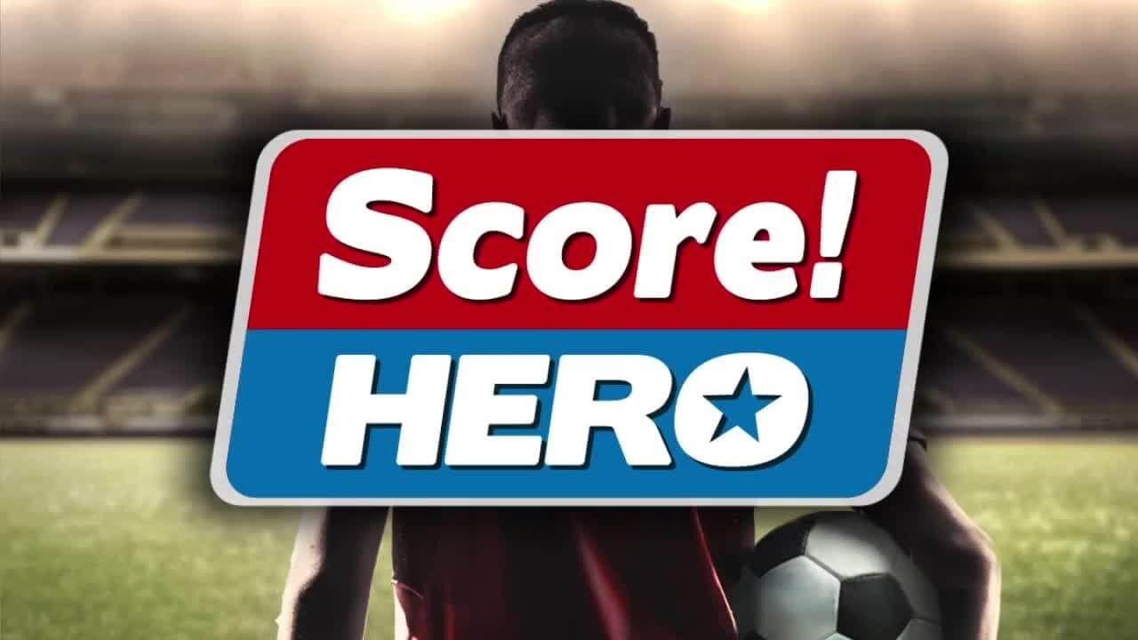 تحميل لعبة كرة القدم score hero v1 17 مهكرة