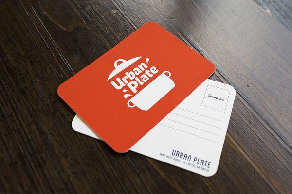 Urban Plate By Chris Yoon Via Behance Postcard Design Postcard Design Inspiration Modern Postcard Design