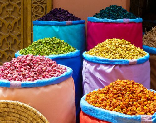 colors of marocco | Epices du monde, Épices, Maroc