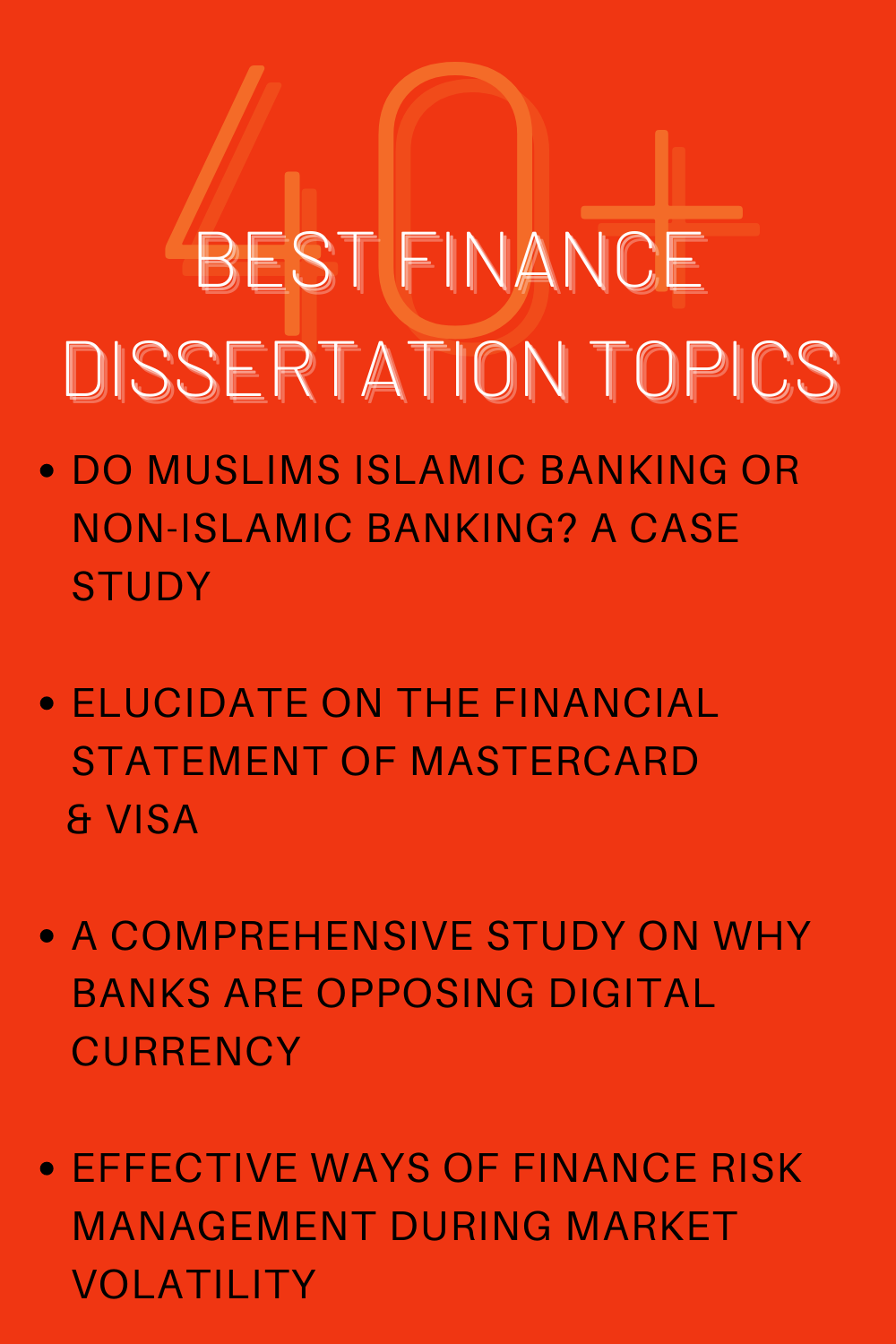 50 Finance Dissertation Topic You Wish Had Known Earlier In 2021 Writing Academic Services Project On