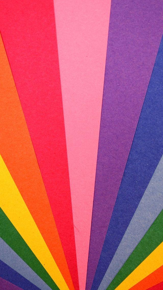 Retro Crayola Rainbow 🌈 Digital Wallpaper | Graphic Design | Phone Background | Digital Art