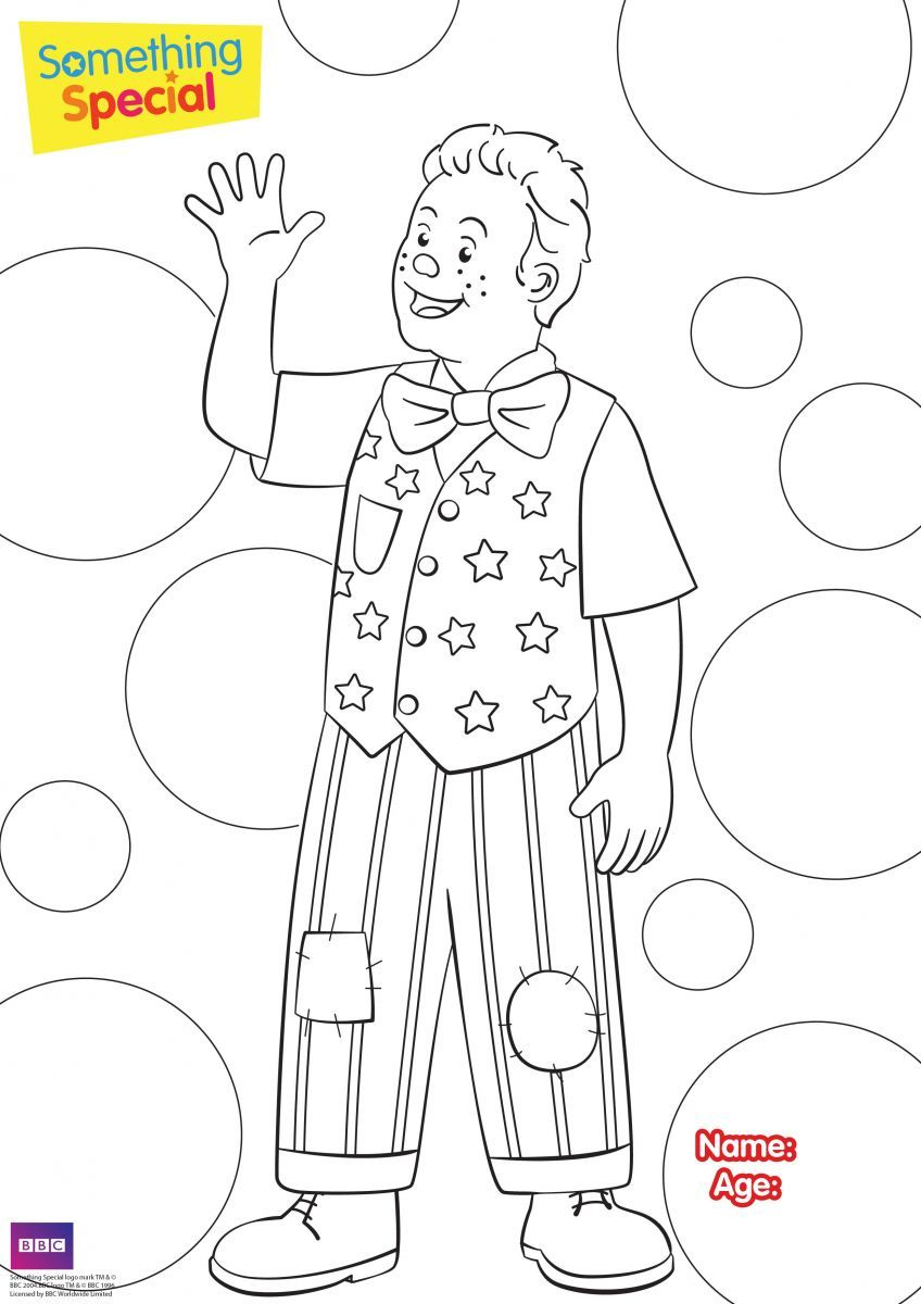 Colouring Sheet Mr Tumble 01jpg 8481200 Tumble