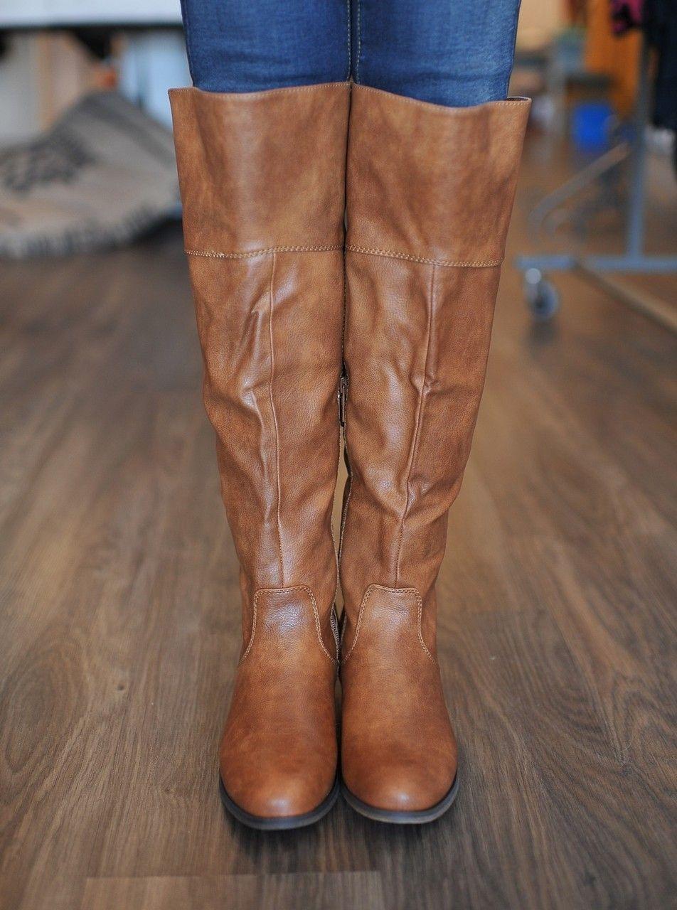 Dottie Couture Boutique - Studded Boot- Camel, $58.00 (http://www.dottiecouture.com/studded-boot-camel/)