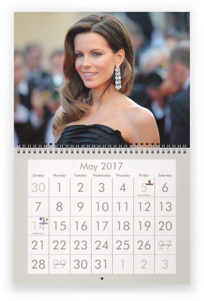 Kate Beckinsale 2017 Wall Calendar Wall Calendar Kate Beckinsale 2017 Kate Beckinsale