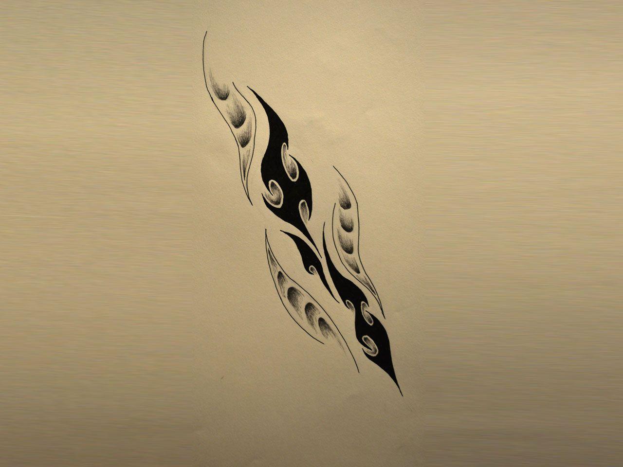 interesting tribal feather tattoos pinterest tribal