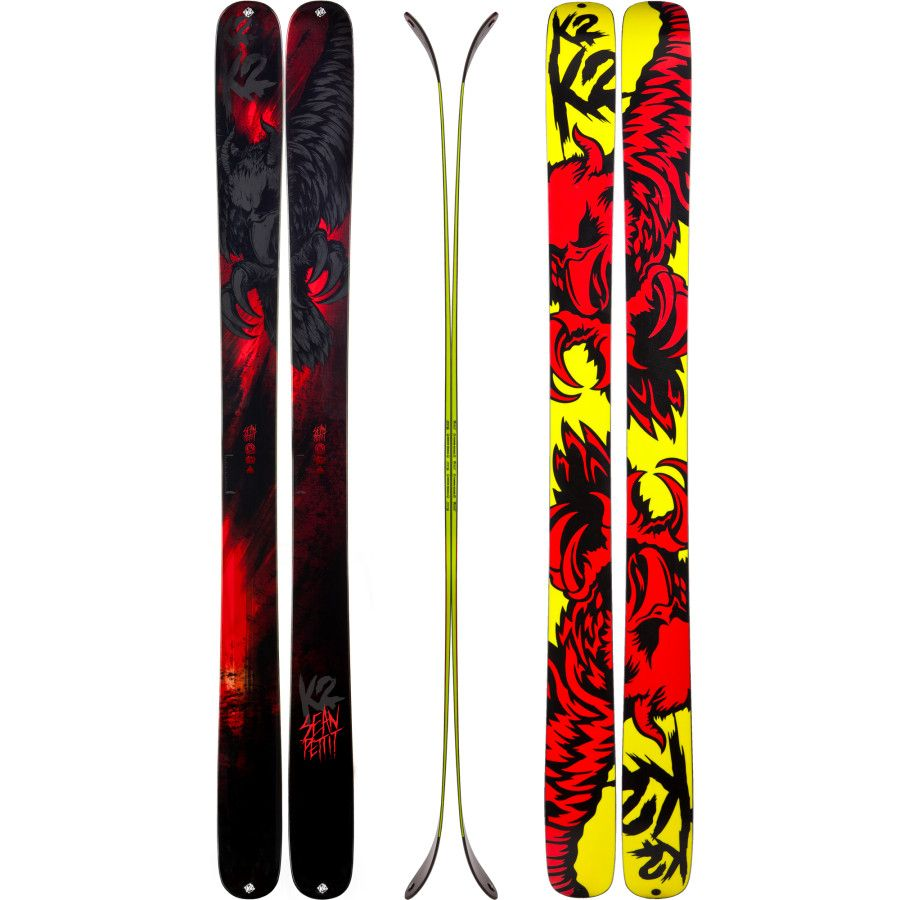 K2 Pettitor All Mountain Skis Designed By Sean Pettit Pro Skier All Mountain Alpine Big Air Skis And They Are On Sale No Skiing Alpine Skiing Free Skiing