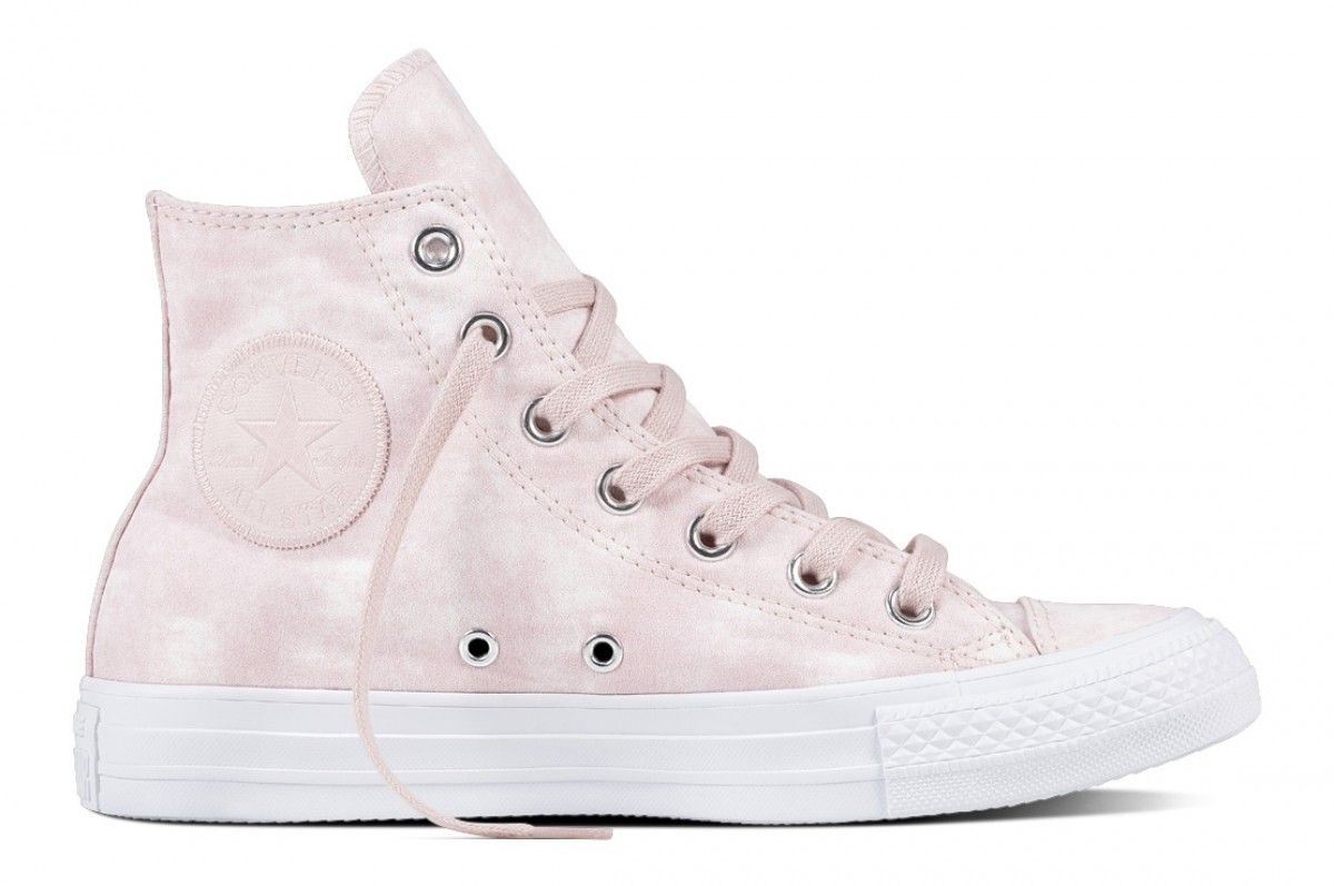 c8eeee55138d Converse Chuck Taylor All Star Hi Top Barely Rose Barely Rose White ...