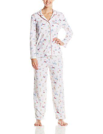 factory price reasonable price quality Karen Neuburger Women's Classic Girlfriend Pajamas at Amazon ...