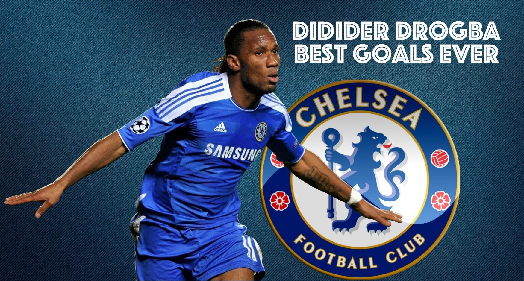 quality design a0eab 9f1c9 Didier Drogba 🇨🇮 Man Of The Finals ○ Best Goals Ever ...