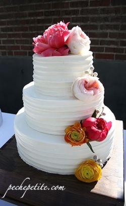 Peche Petite Atlanta Georgia Wedding Cakes