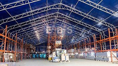 Details about Steel Framed Storage Building Industrial ...