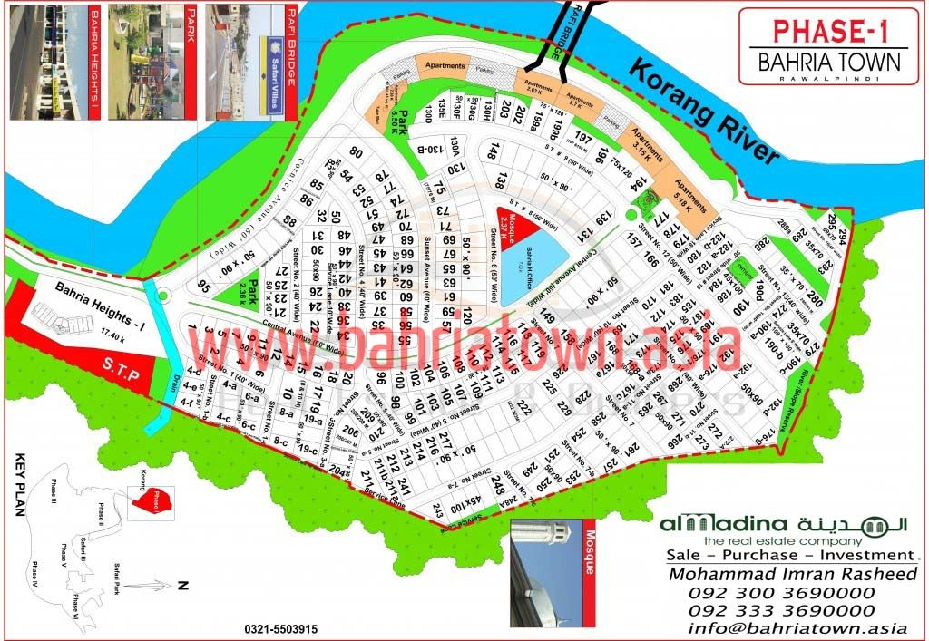 Bahria Town Rawalpindi , Islamabad , Karachi all maps . Contact for ...