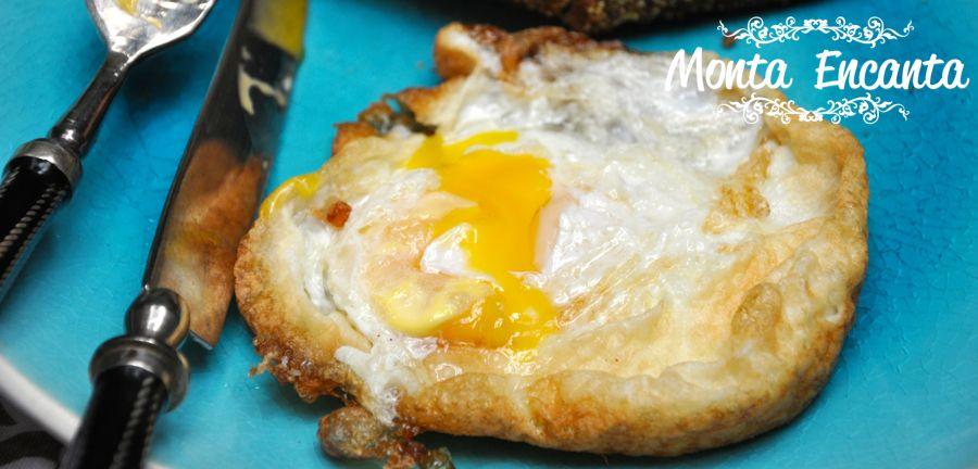 como fazer o ovo frito perfeito!