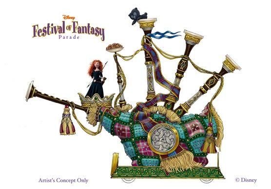 Disney Brave Clip Art | Disney Festival of Fantasy Parade : nouveaux concepts-arts à ...