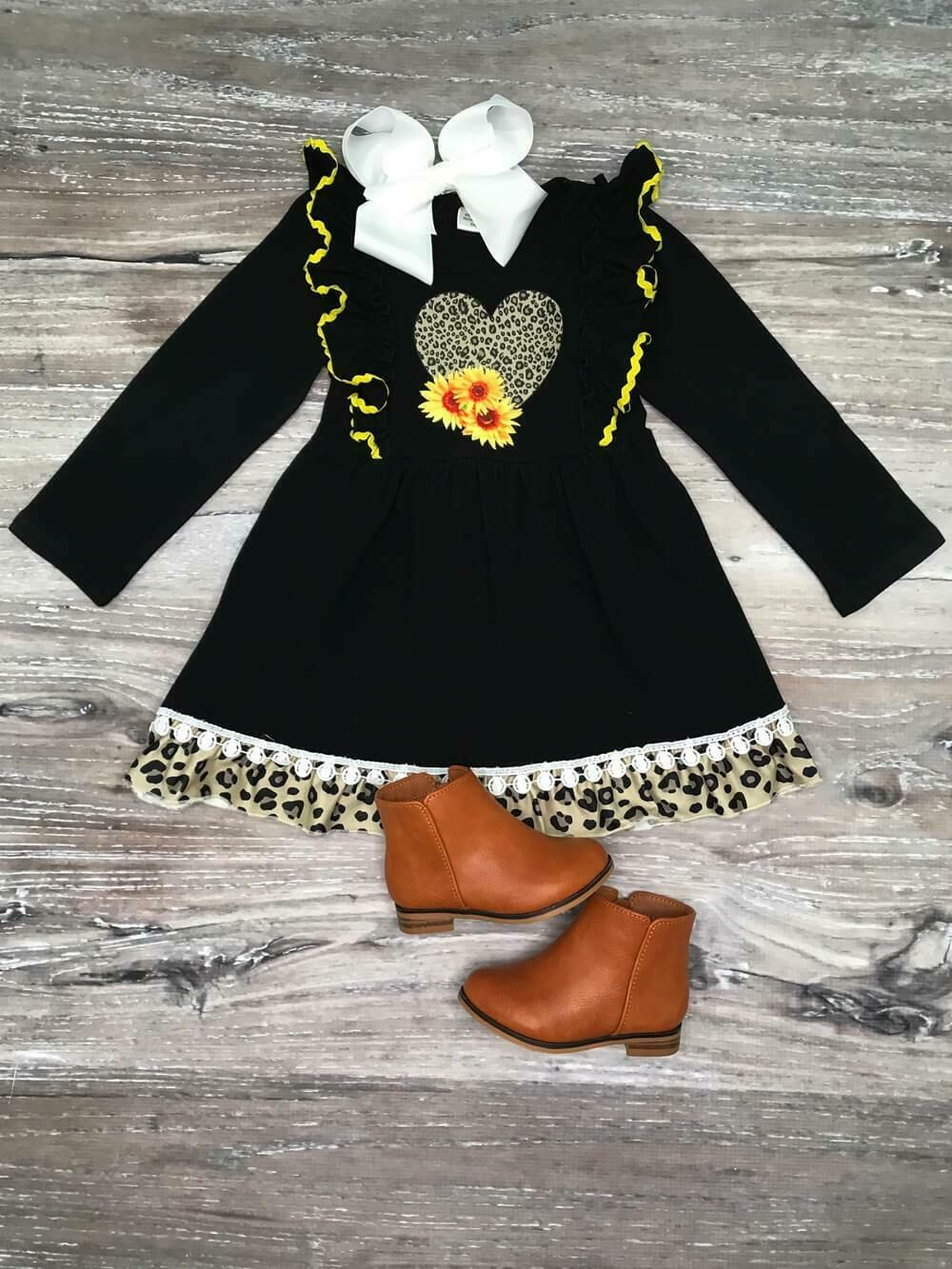 Girls Halloween Outfit Boutique Toddler Kids Clothes 2t 3t 4t 7 8 Leggings Set