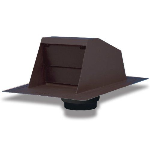 Duraflo 6020br Rangehood Exhaust Vent With Collar Brown Continue To The Product At The Image Link Exhaust Vent Roof Vents Roofing