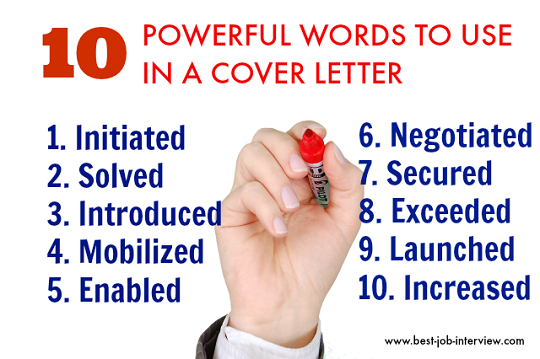 Action Words To Use In A Resume Mesmerizing 10 Powerful Action Words To Use In A Cover Letter Job Search Job .