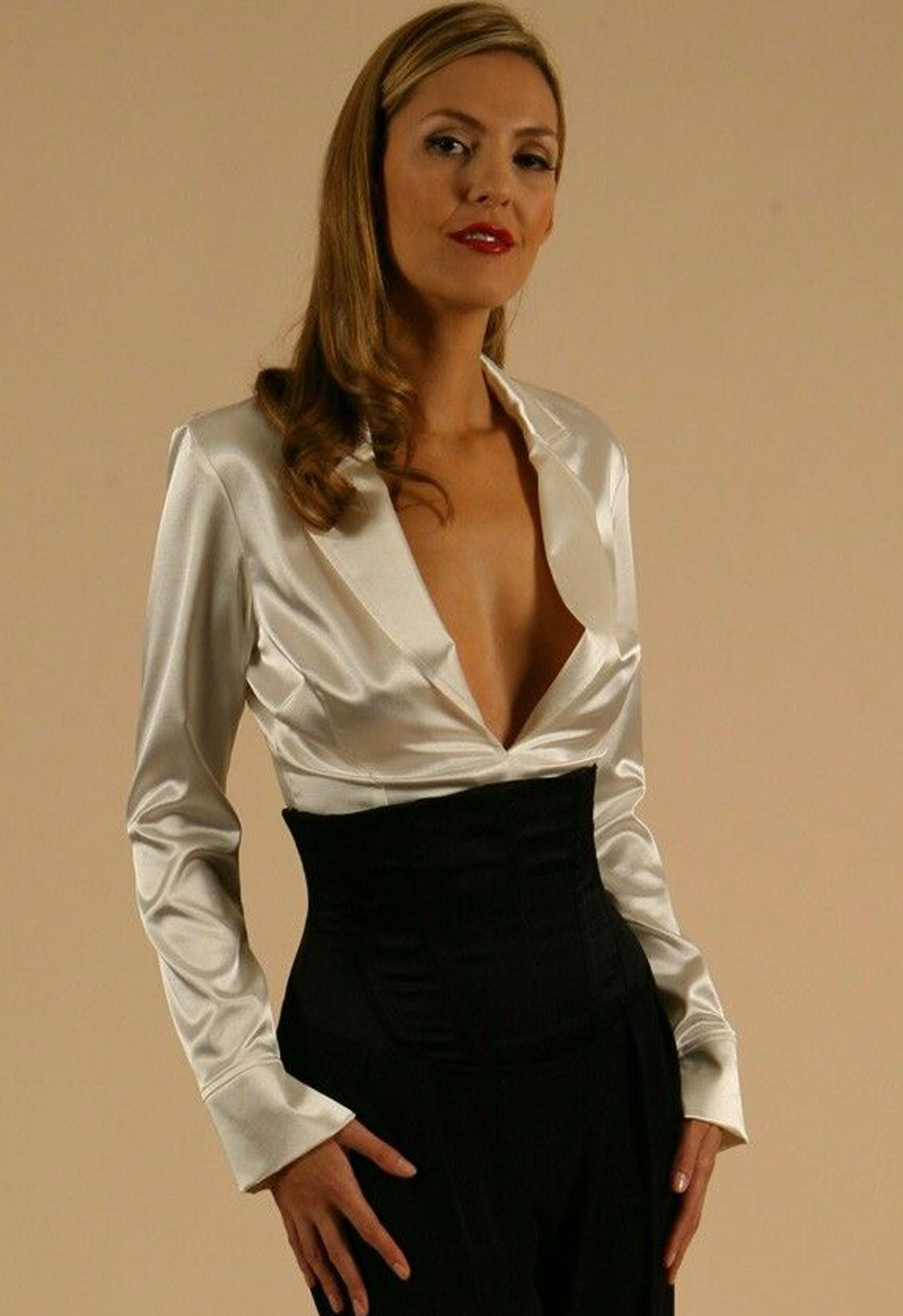 02fbc3f1c50a27 sindrive satin blouses - Google Search