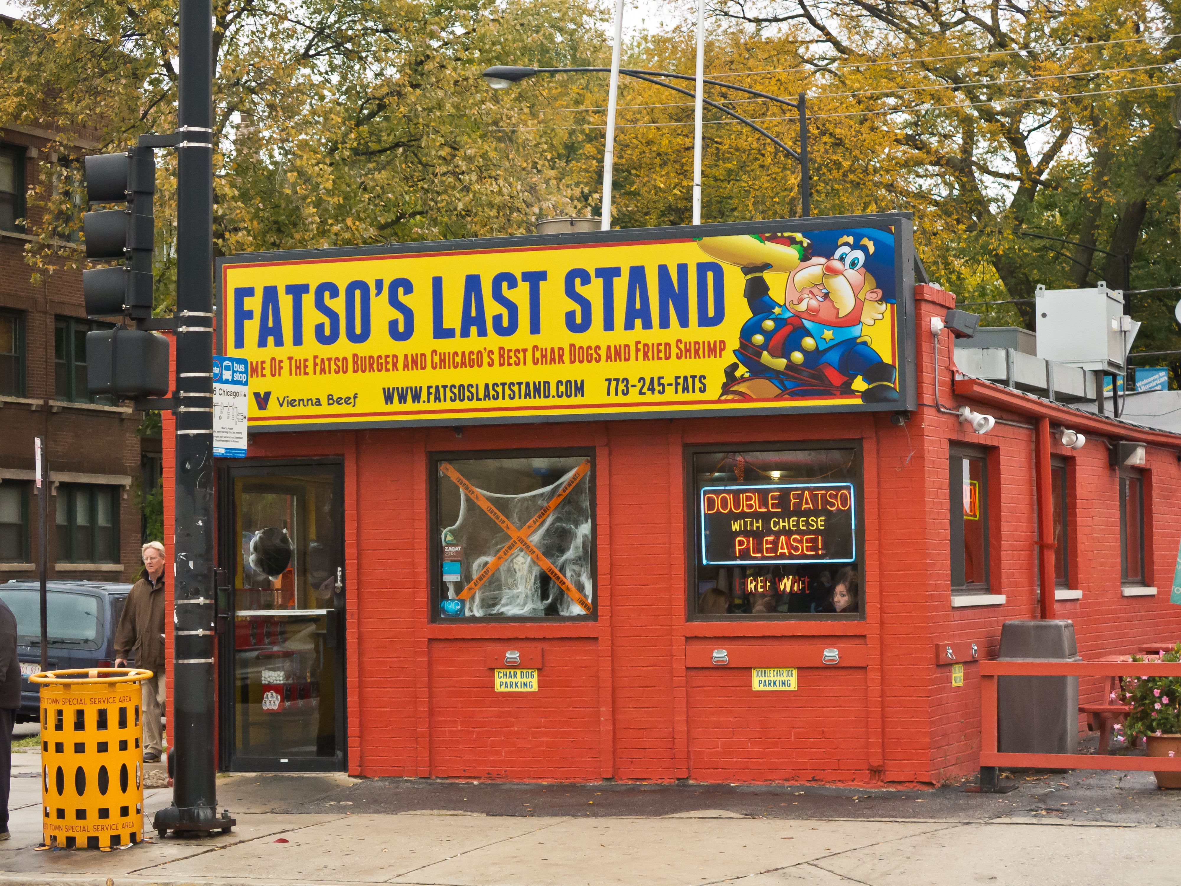 Fatso S Last Stand Google Search Chicago Hot Dog Last Stand