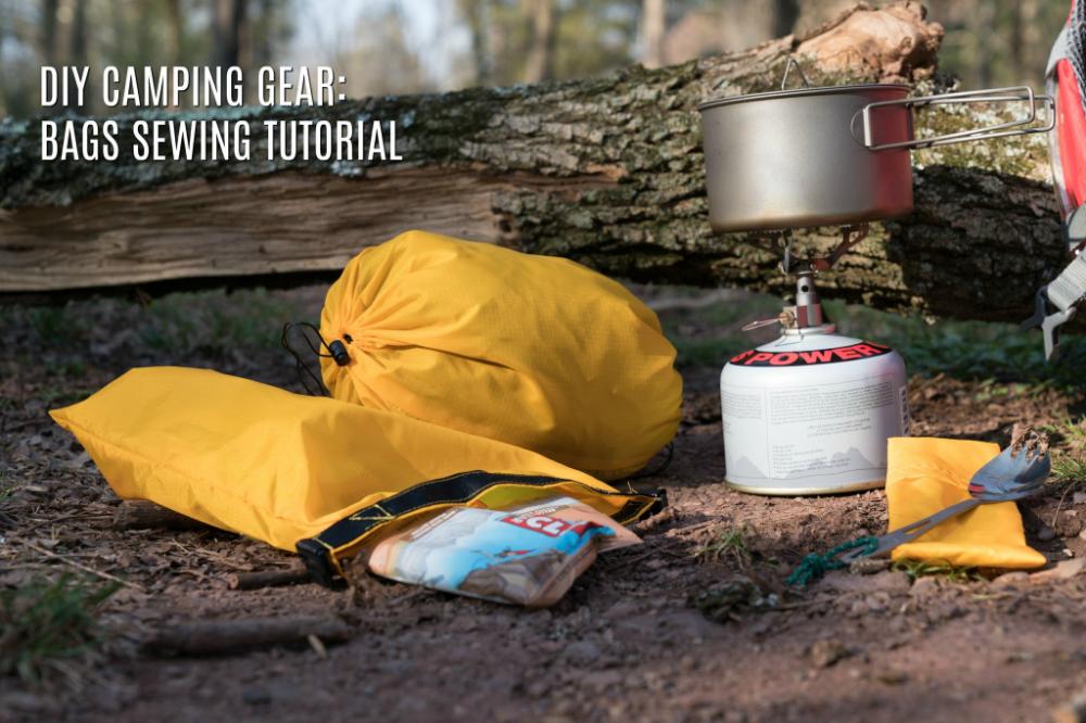Photo of DIY CAMPING GEAR: BAGS SEWING TUTORIAL