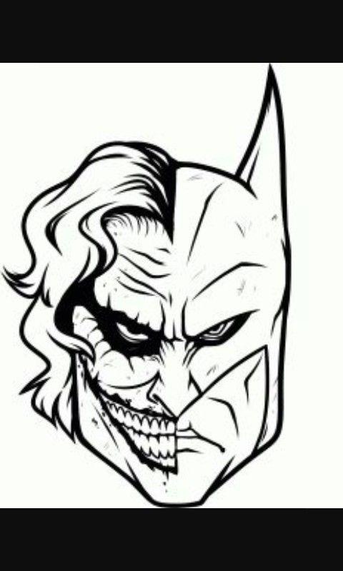 Joker Batman Doodle Batman Dibujo Dibujos Y Dibujos