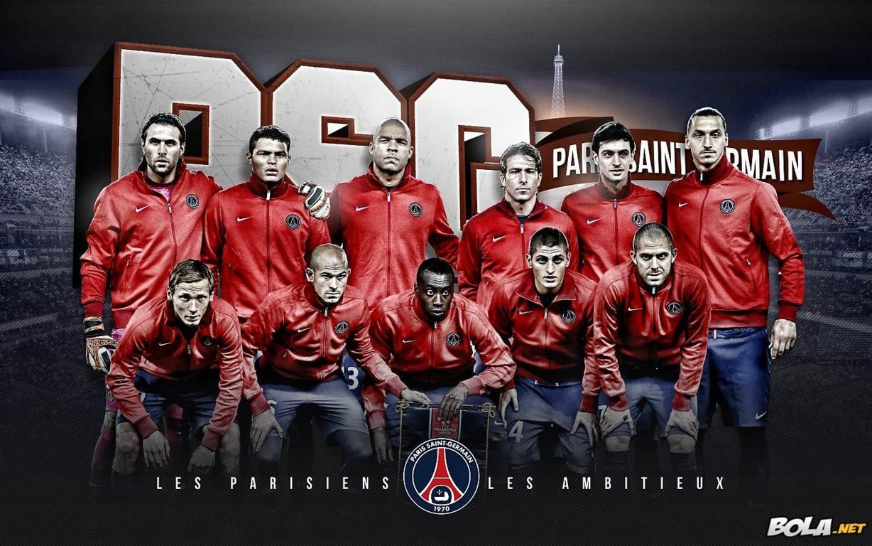 PSG Team Squad 2013 2014 FgdgWallpaper HD Saint Germain Football Wallpaper Paris