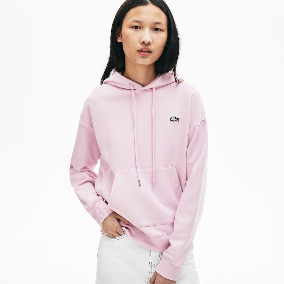4c425574b9 Unisex LIVE Hooded Cotton Sweatshirt in 2019 | Clothes | Lacoste ...