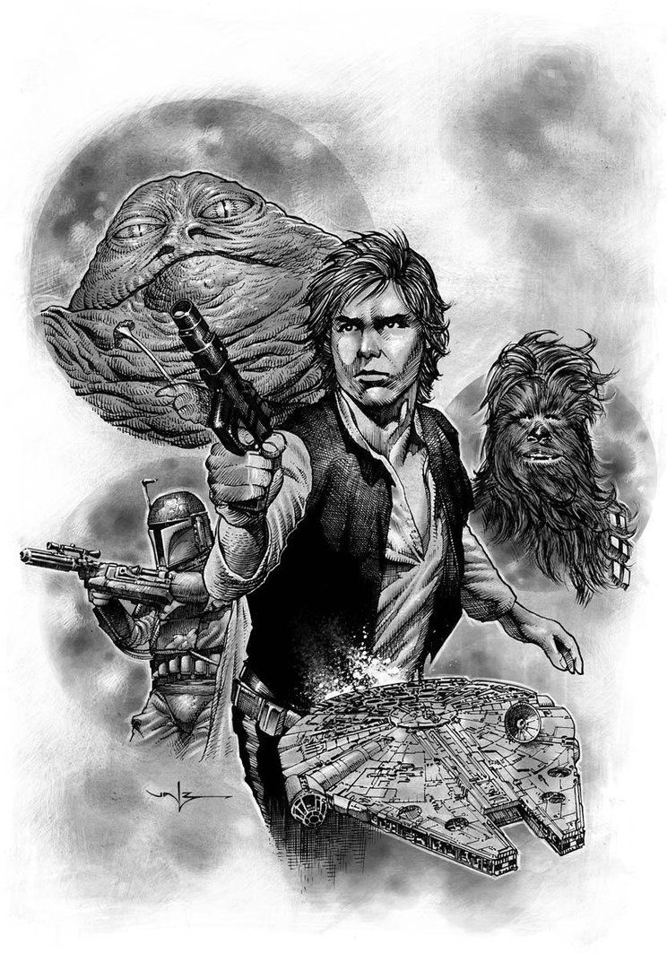 Han Solo by Valzonline