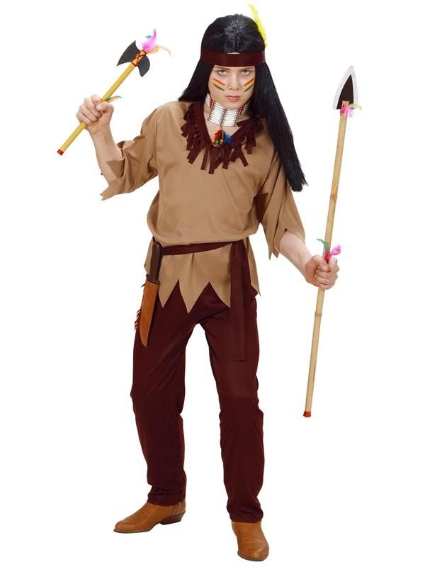 Indianer drengekostume | Kostumer, Pandebånd, Karneval