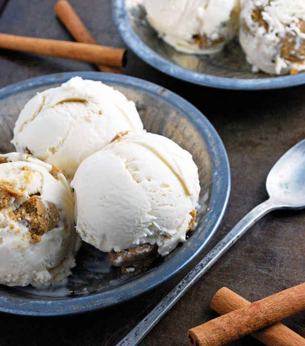 24. Gingerbread Cookie Dough Ice Cream