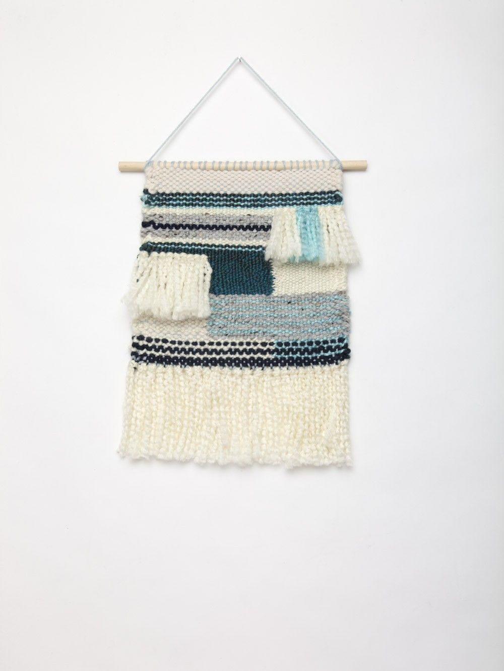 Weave Kit - Clear Skies Wall Hanging | Weaving | Pinterest