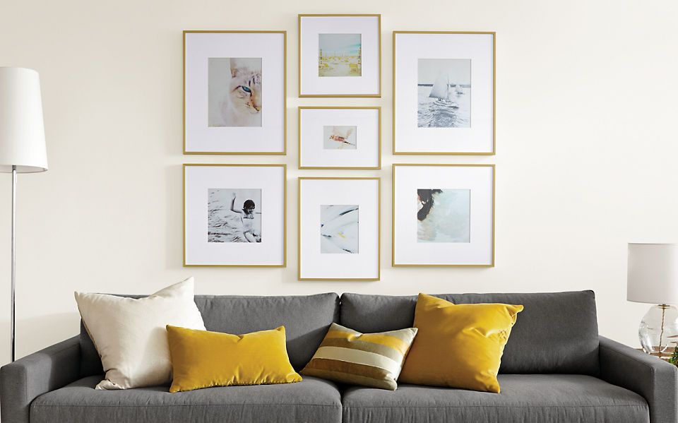 Frame Wall Ideas Ideas And Advice Room And Board Wall Art