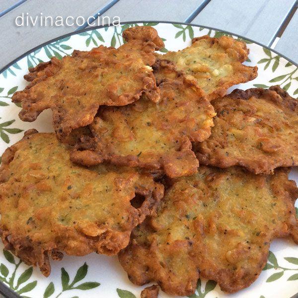 tortillitas de camarones divina cocina