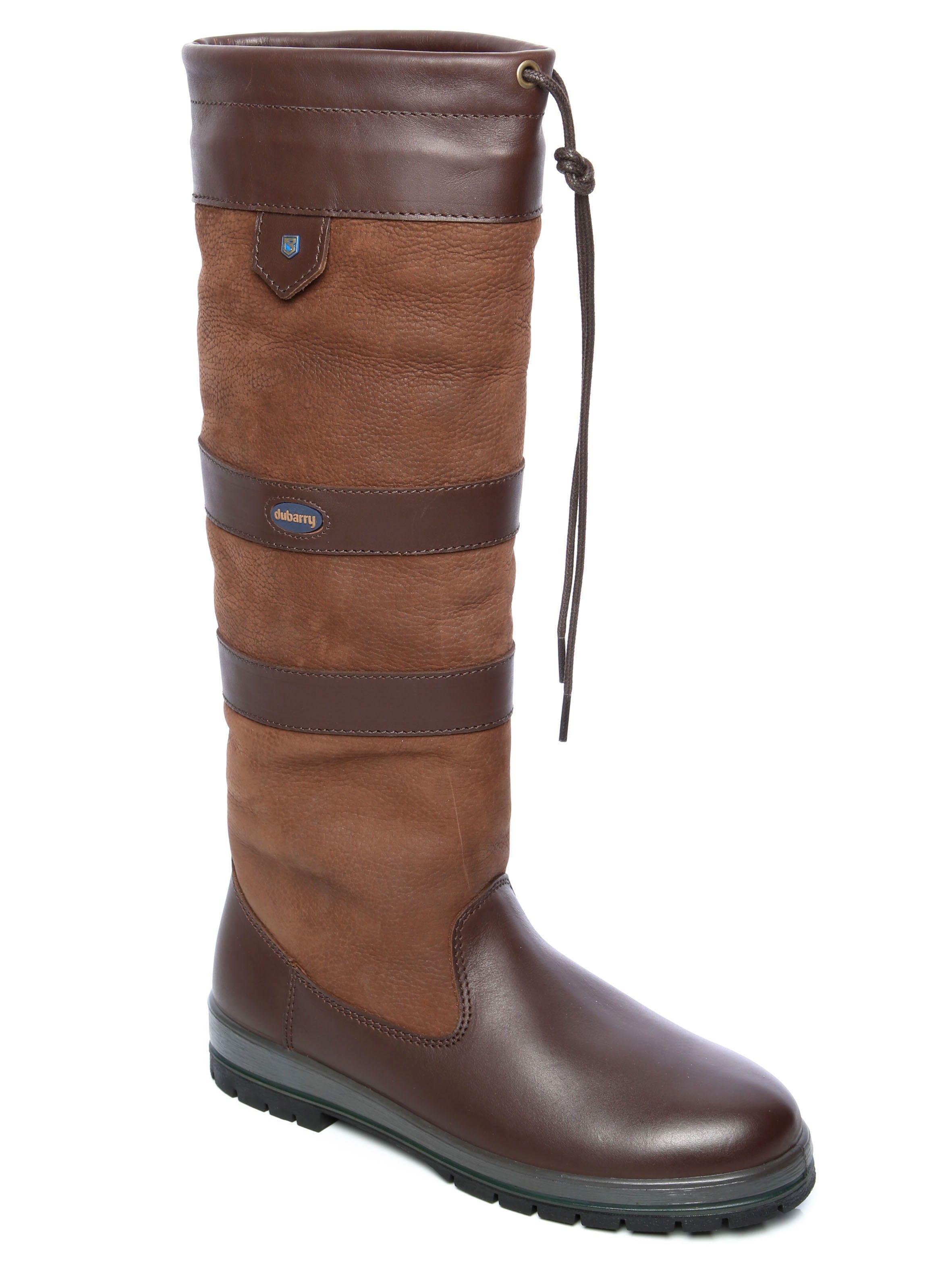 Dubarry Galway Black Brown | Zwarte laarzen outfit, Laars