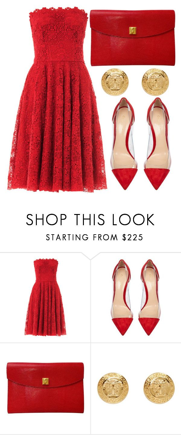 """""""What We Done?"""" by willneverdie ❤ liked on Polyvore featuring Dolce&Gabbana, Gianvito Rossi, Hermès and Versace"""