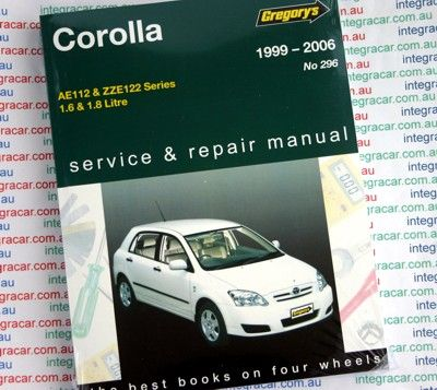 toyota corolla 1997 2006 gregorys service repair manual books rh pinterest fr 1997 Toyota Corolla Manual PDF 1997 Toyota Corolla Owners Manual