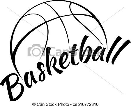 Basketball cool. Clip art stock icon