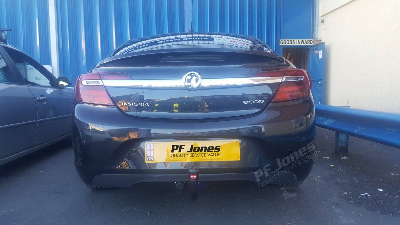 Flange Tow Bar Towbar for Vauxhall Insignia Hatchback 2013-2017