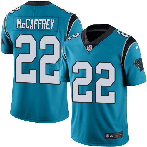 Nike Carolina Panthers Youth  22 Christian McCaffrey Limited Blue Alternate  Vapor Untouchable NFL Jersey 255d8aee2