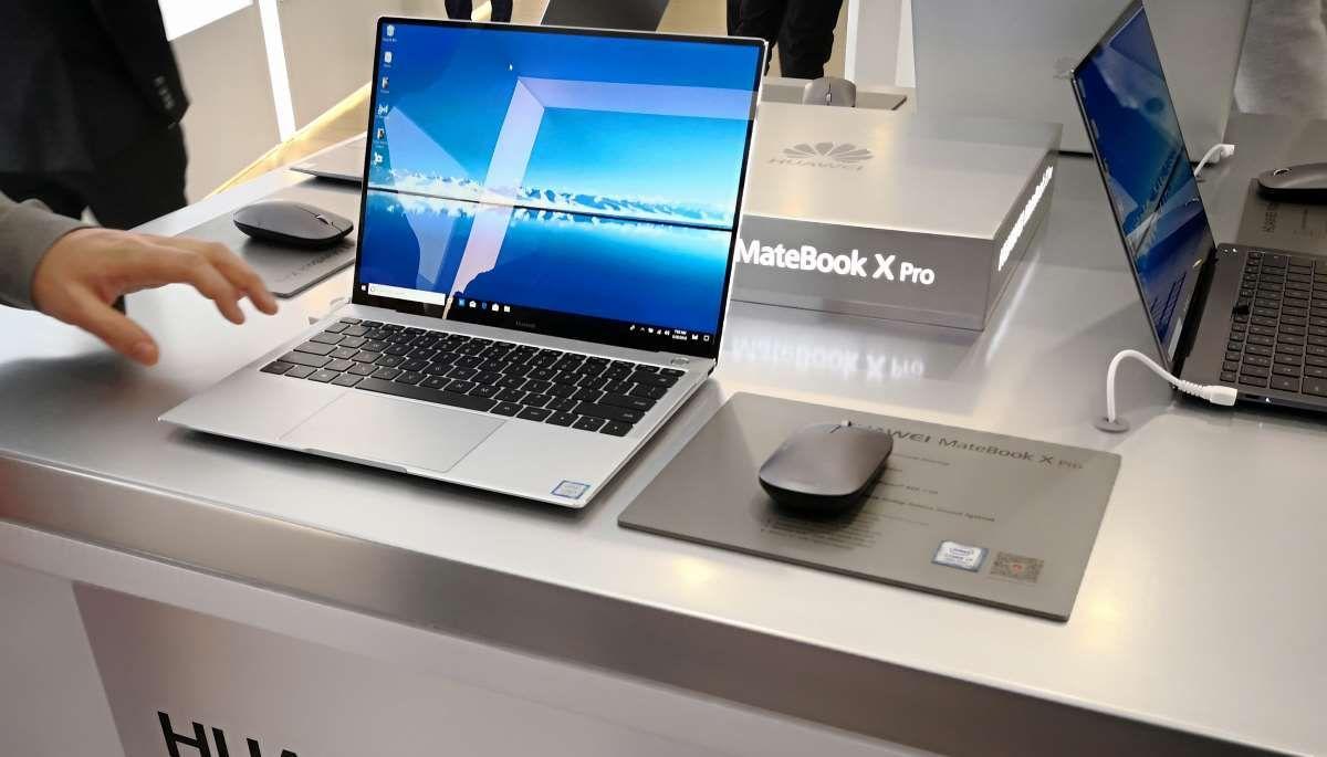 Huawei Propose Son Matebook X Pro Un Pc Portable Sur Vitamine