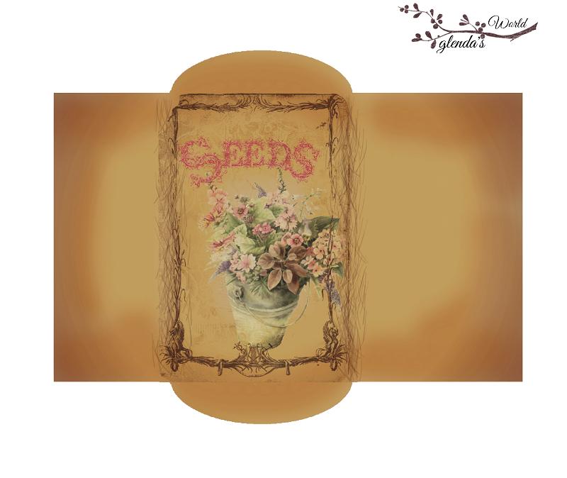 glenda's World : Antique Seed Packet Templates
