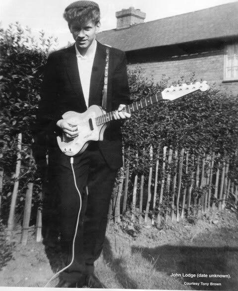 Young John Lodge Moody Blues Justin Hayward Young John