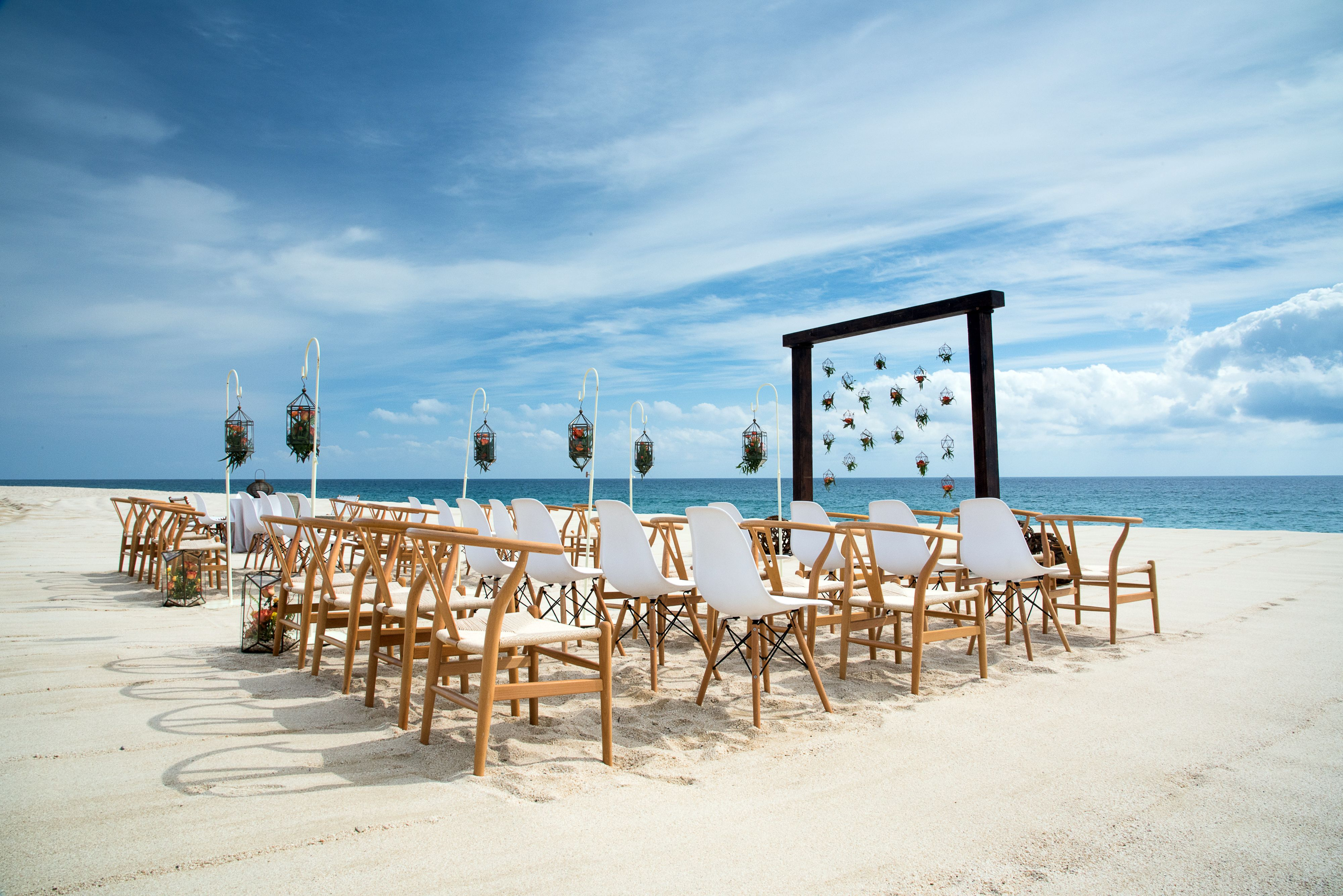 A luxurious beach destination wedding at the allinclusive