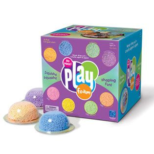 Playfoam: The kids will love this stuff AND I won't have to spend an hour cleaning it up! Yay!