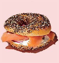 Classic New York - East River Bread's bagel with lox & cream cheese #CheapEats #NYCEateries