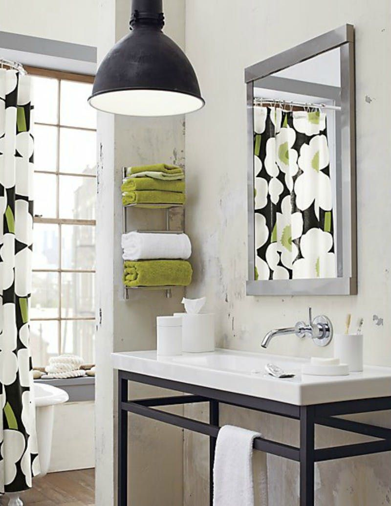 Ideas For Hanging Storing Towels In A Tiny Bathroom Smalls - Black towels for small bathroom ideas